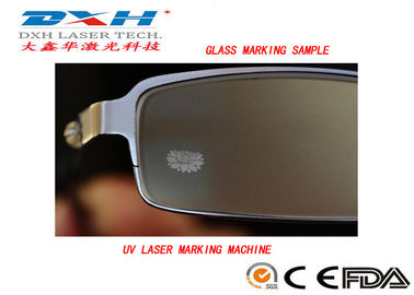 China Kleine industrielle Laser-Markierungs-Systeme, transparente schnitzende Glasmaschine  usine